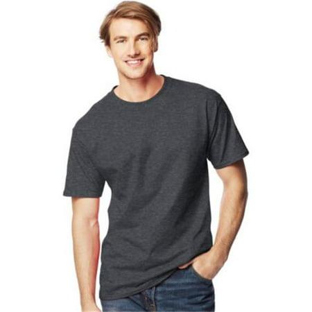 37513855 Hanes 78715954680 518T Mens Beefy T Tall T Shirt, Grey - 4XLT - image 1 ...
