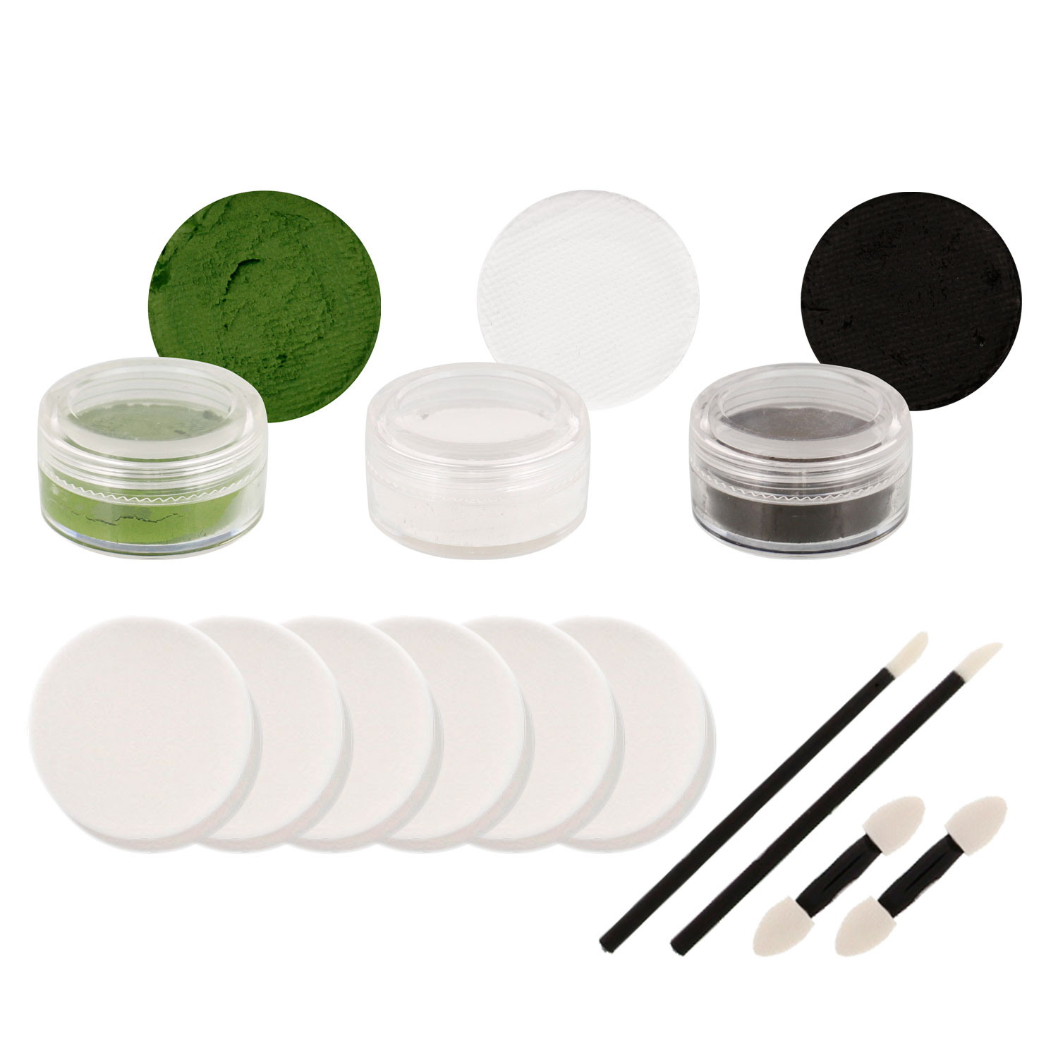 MEAN GREEN Football Basketball FACE PAINTING SET Paint
