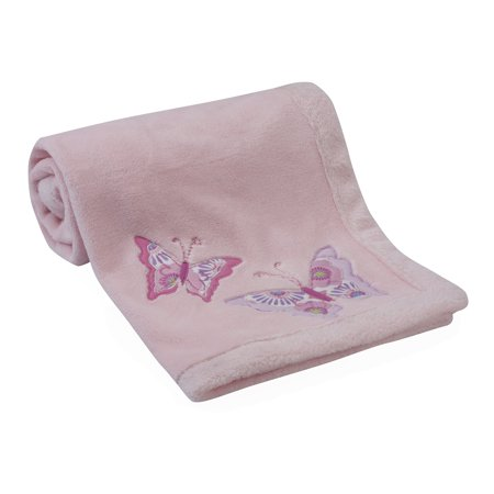Lambs & Ivy Butterfly Garden Pink Baby (Baby Lamb Pictures)