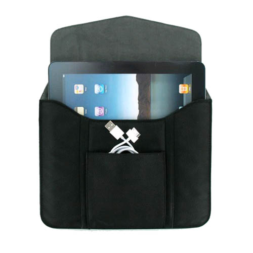 Universal Tablet Sleeve Pouch Case for the Apple iPad 3, iPad 2, iPad 1 (Bulk Packaging)