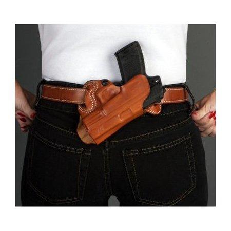 DeSantis Small of Back Holster - Right, Black  - For Glock 26, 27, (Best Small Of Back Holster For Glock 19)