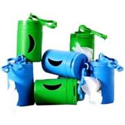 483970 Green Pet Bio Bag Dispenser and 2 Rolls Poop Bags