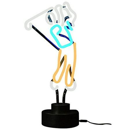 - Golfer Neon Sculpture