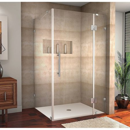 Aston Avalux 40'' x 30'' x 72'' Completely Frameless Hinged Shower