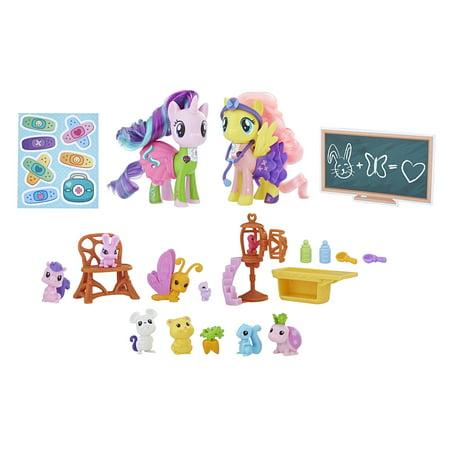 31eae927a86 My little pony fluttershy   starlight glimmer pet care class - Walmart.com