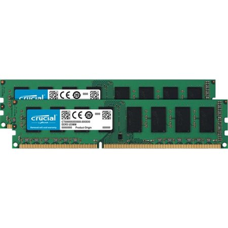 - Micron 8GB (2x4GB) DDR3L 1866 MHz 1.50V 240-pin DIMM Memory Module