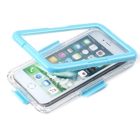 separation shoes 855f6 b02a8 for iPhone 7 Plus Waterproof Case, Moleboxes Waterproof Dust proof  Shockproof Snow Proof Clear Full Body Sealed Protective Rugged Case Cover  for Apple ...