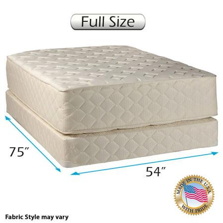 Usa Full Box (Dream Solutions USA Highlight Luxury Firm Full Mattress & Low 5