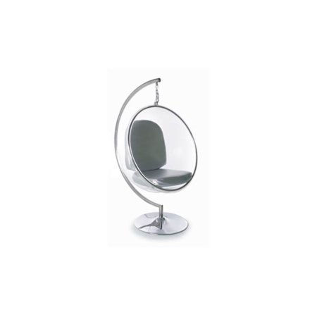 Indoor Bubble Chair Stand In Clear Walmart Com