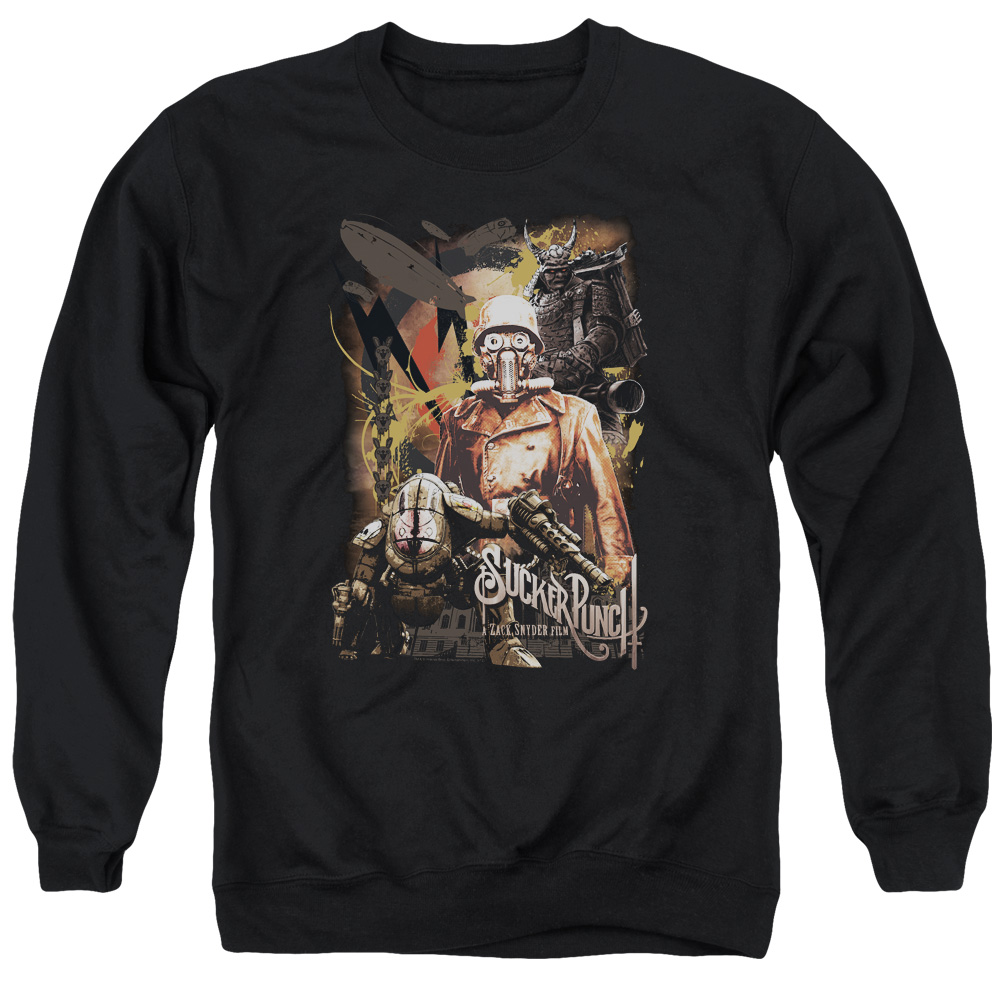 Sucker Punch Adversity Mens Crewneck Sweatshirt