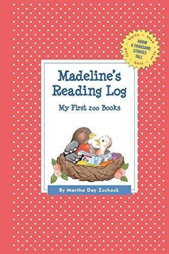 Madeline's Reading Log: My First 200 Books (Gatst) by