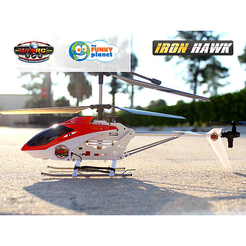 My Web RC Iron Hawk Helicopter Radio-Controlled Vehicle