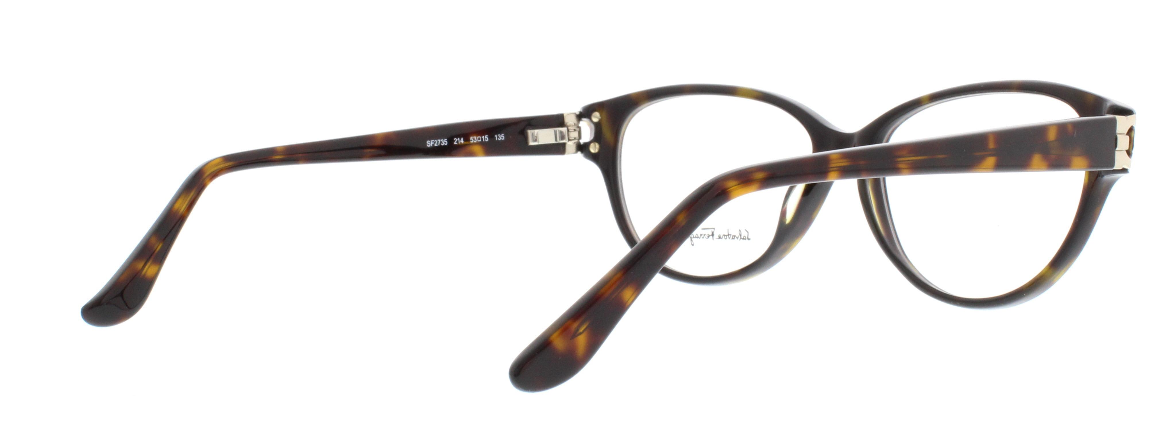 760b1f56ee SALVATORE FERRAGAMO Eyeglasses SF2735 214 Tortoise 53MM - Walmart.com