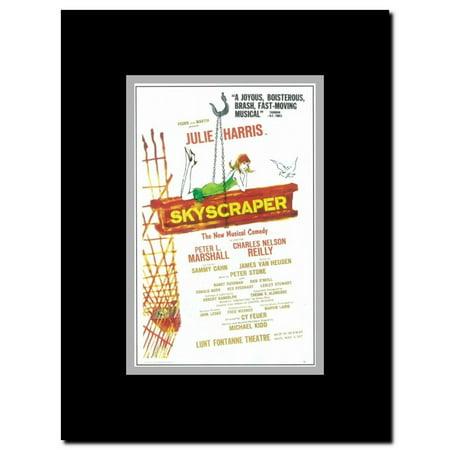 Skyscraper (Broadway) Framed Movie Poster - Walmart com