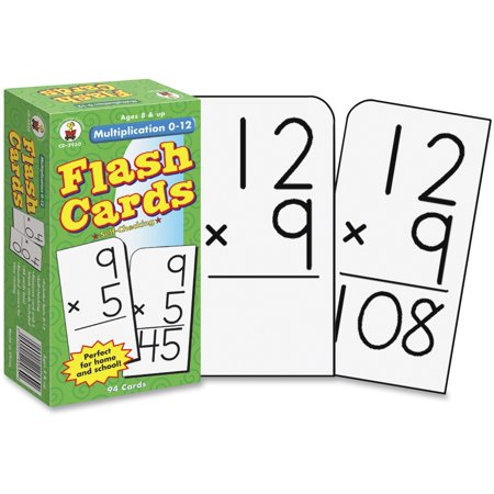 Elementary Education Pack - Multiplication 0-12 Flash Cards, Ages 8 - 10 (Other)