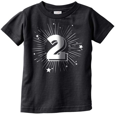 Toddler 2 Years Old Birthday Party Tshirt For Baby Age Celebration Tee](3t Age)