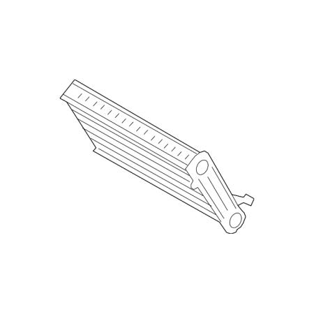 - Genuine OE BMW Heater Core 64-11-9-229-486