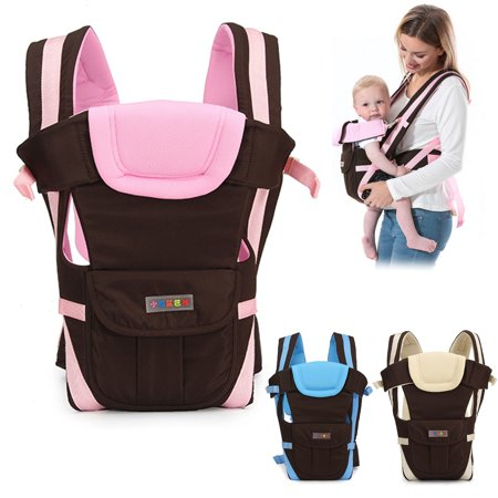 Lightweight All Carry Positions 4-Positions, 360° Ergonomic All Season Baby & Child Infant Toddler Newborn Carrier Backpack Front Back Wrap Rider Sling Soft & Breathable Cotton