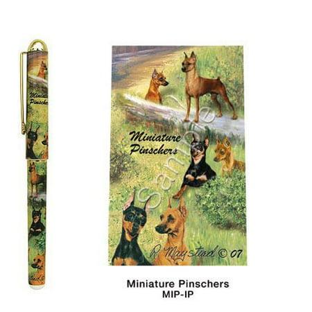 Miniature Pinscher Roller Ball Pen Designer Ruth Maystead, Smooth writing By Best Friends by Ruth