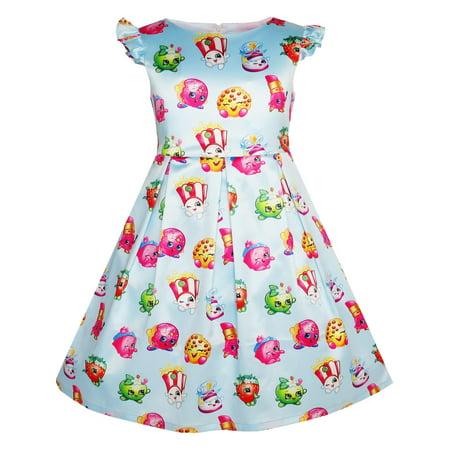 Girls Dress Apple Blossom Strawberry Kiss Poppy Corn 4 (Poppy Girls Dresses)