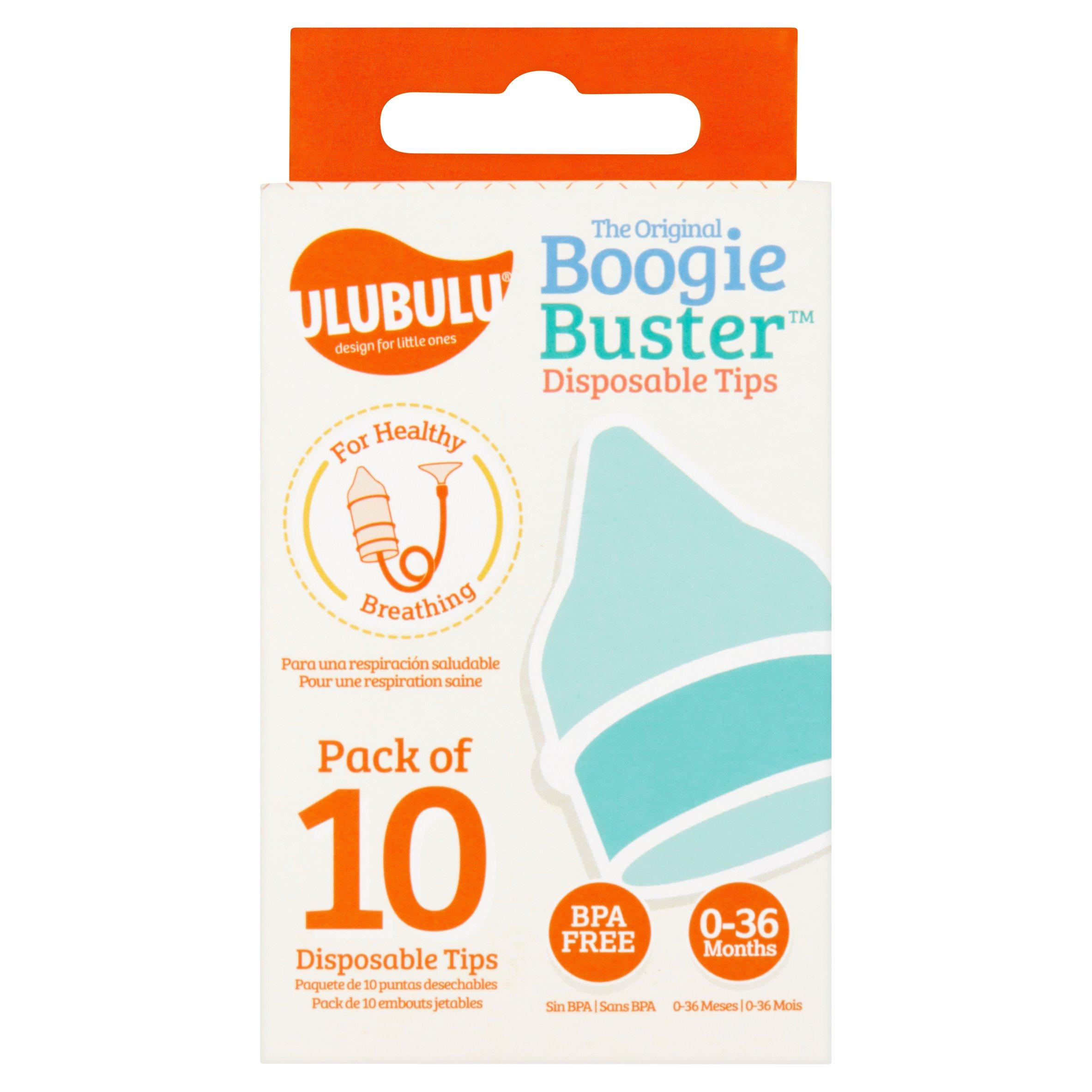 Ulubulu Boogie Buster Pediatric Nasal Aspirator Refills, 10 count
