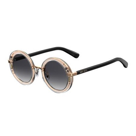 Jimmy Choo Gem/S Sunglasses 01FN 48 Crystal Gold (Jimmy Choo Crystal Sunglasses)