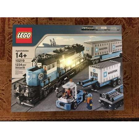 Lego Trains Maersk Train 10219 Walmart Com