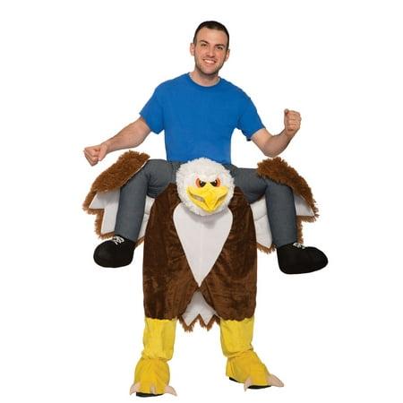 Ride an Eagle Adult Costume - Bald Eagle Costume