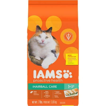 Iams Proactive Health Hairball Care Dry Cat Food 7 Pounds