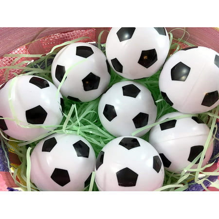 Jumbo Fillable Easter Eggs (Easter Decorations Fillable Eggs - Set of 6 Sports Eggs)