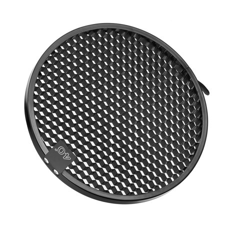 Diffusion Grid (Unique Bargains 40 Degree Honeycomb Grid Black for 7-inch Reflector Diffuser Lamp Shade Dish )