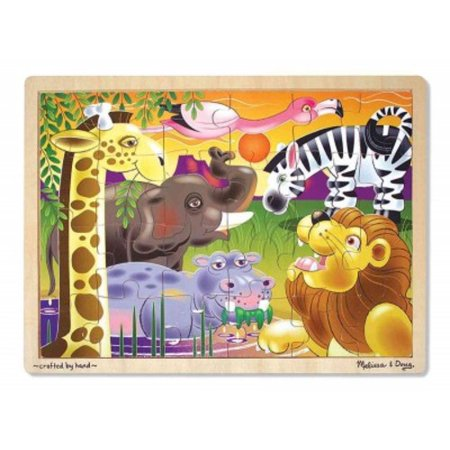 African Plains Jigsaw Puzzle (24 Pc)