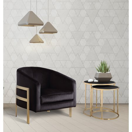 Chic Home Artemis Modern ContemporaryVelvet Bucket Club Chair ()