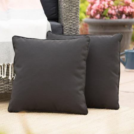 Coronado Outdoor Square Water Resistant Pillow - Set of (Coronado Mall)