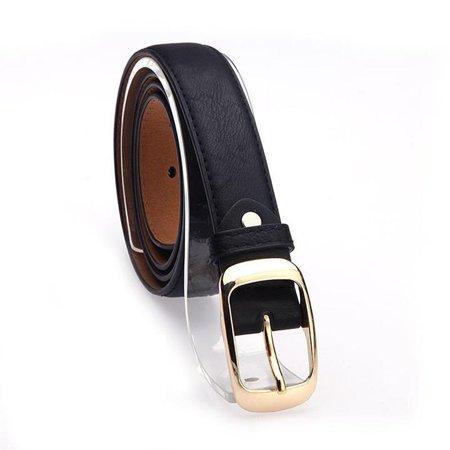 Leopard Stretch Belt (Fashion Women\'s faux leather metal belts Girls Fashion Accessories RllYE)