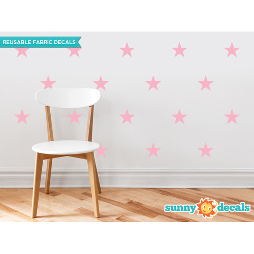Sunny Decals Stars Wall Decal (Set of 30)