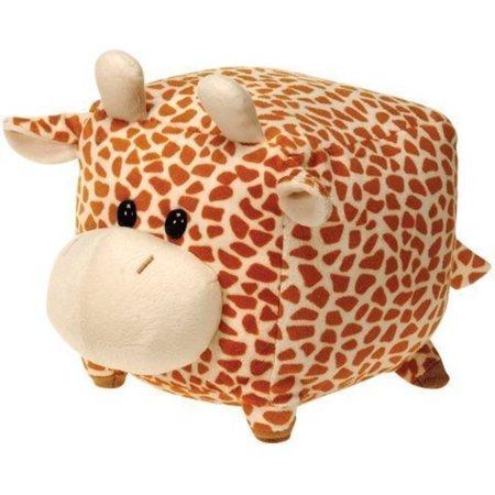 Giraffe Stuffed Toy - Fiesta Toys Square Giraffe Plush Stuffed Animal Toy - 4.5 Inches