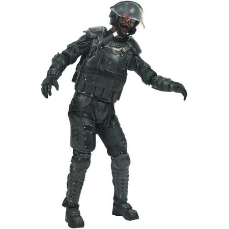 McFarlane Toys The Walking Dead TV Series 4 Riot Gear Zombie Action Figure (Universal)