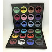 Ruby Red Paints PROKIT24 Black Case with 24 Colors