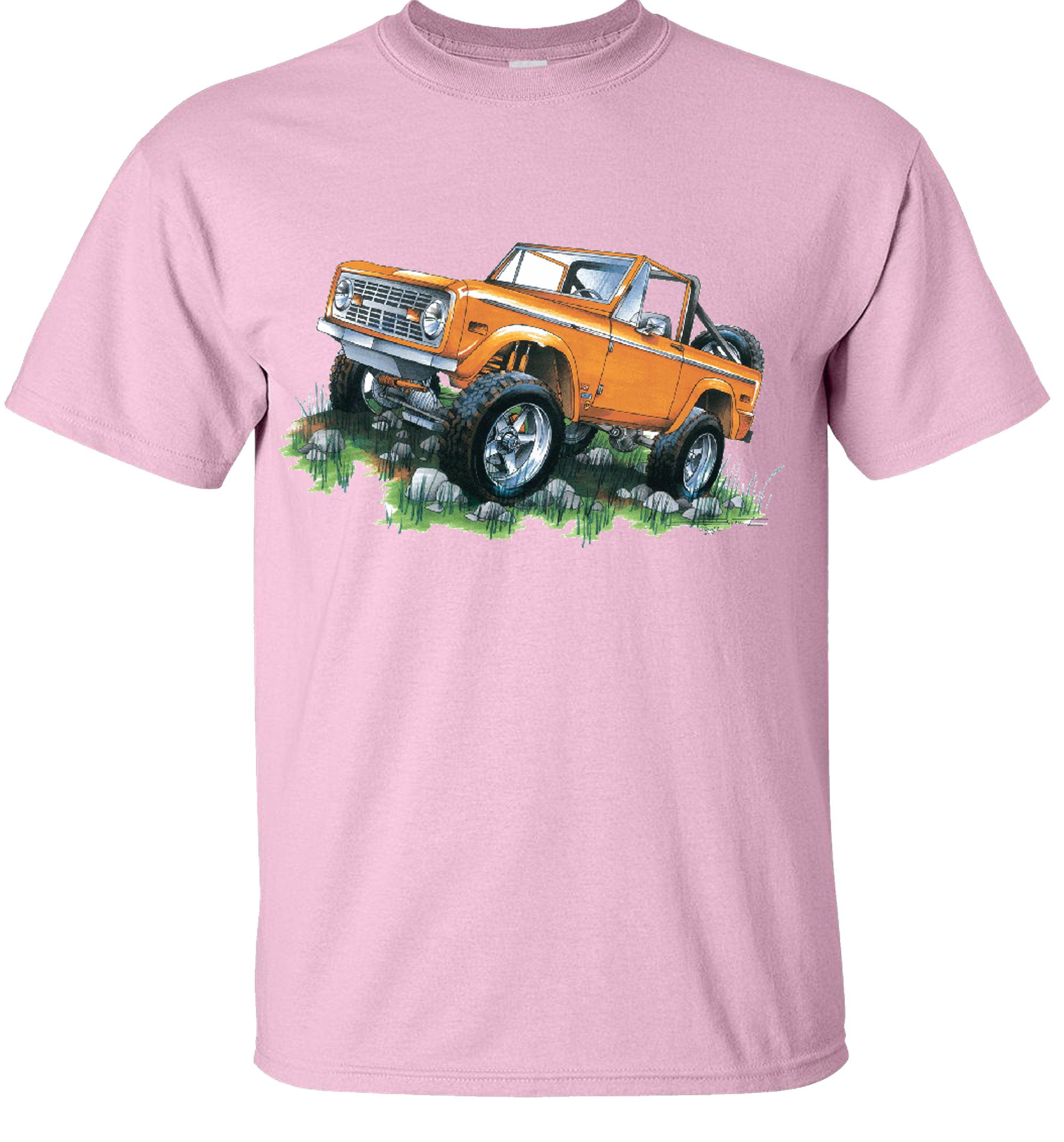 Ford Classic Bronco  Mens T shirt