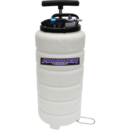 - Panther 15L Pneumatic or Manual Pro Series Heavy-Duty Oil Extractor