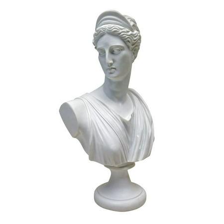 - Design Toscano Diana of Versailles: Bonded Marble Resin Sculptural Bust