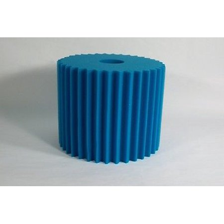 Electrolux Aerus Centralux 8 x 7 Central Vac Washable Blue Scalloped Foam Filter Electrolux Central Vac Filter