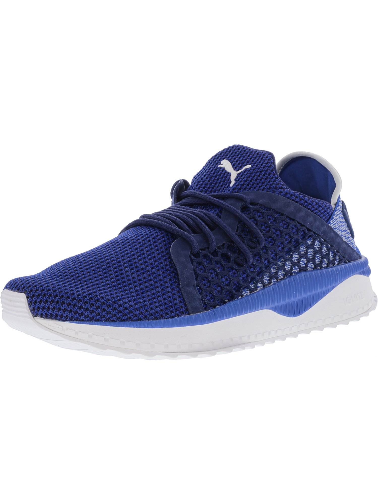 d34265f3f445 PUMA - Puma Men s Tsugi Netfit Lapis Blue   Depths White Ankle-High Fabric  Fashion Sneaker - 11M - Walmart.com