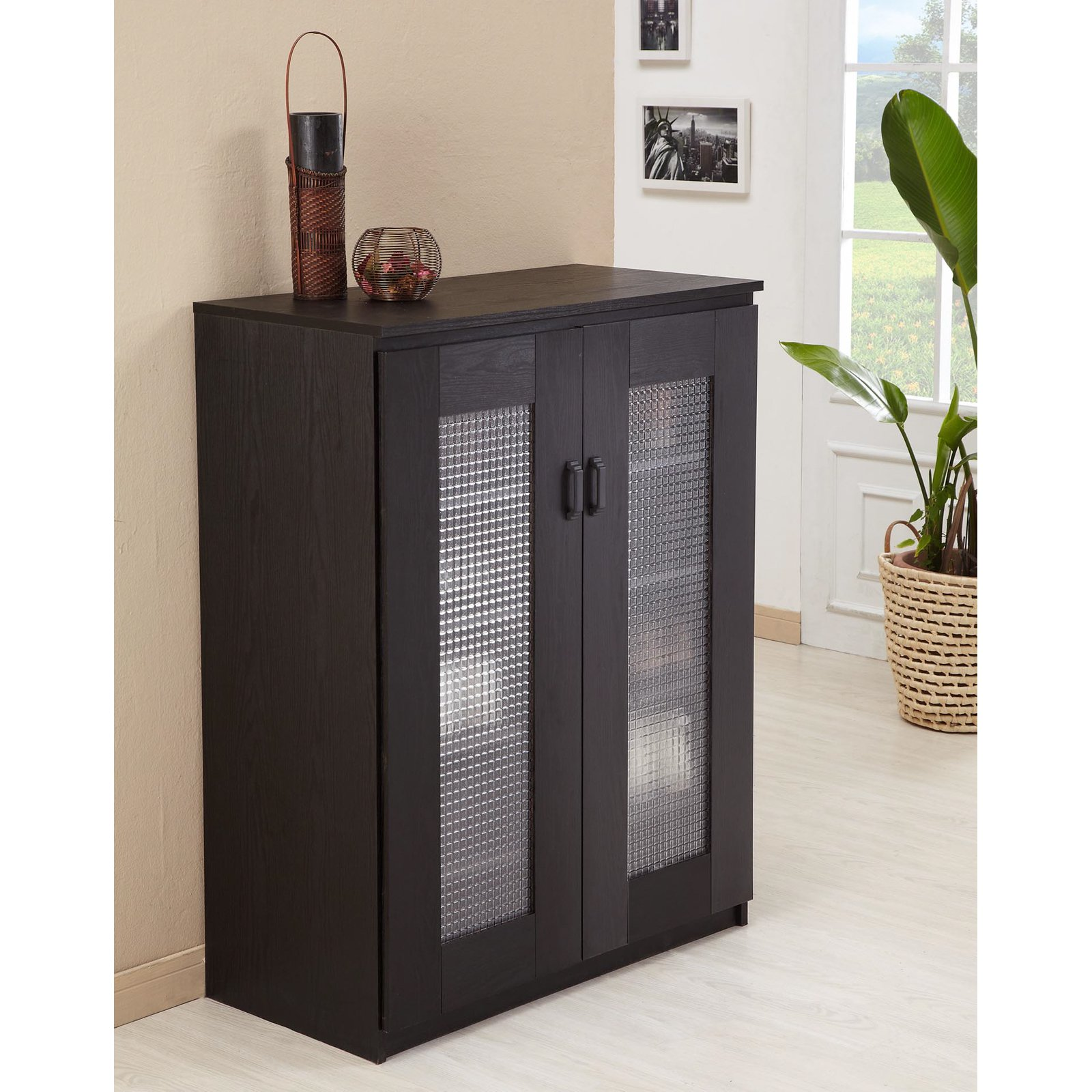 sc 1 st  Walmart : dark wood shoe cabinet - Cheerinfomania.Com