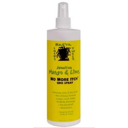 Jamaican Mango & Lime  No More Itch Gro Spray, 16 oz (Pack of (Jamaican Mango And Lime No More Itch)