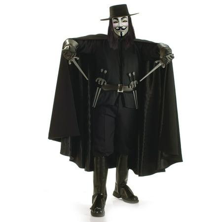 Men's Grand Heritage V for Vendetta Costume