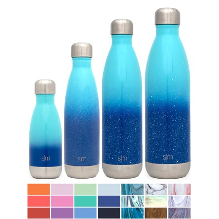 - Simple Modern Wave Water Bottle - Vacuum Insulated - 4 Sizes in 40+ Styles