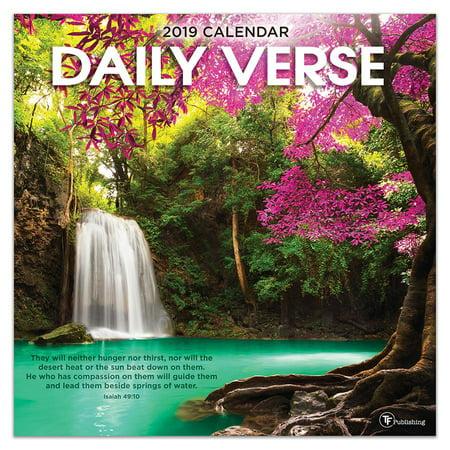 Verse Calendar (2019 Daily Verse 12