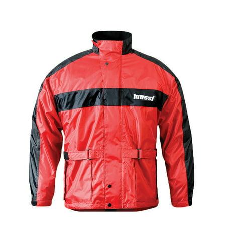 Men's Mossi RX-2 Rain Jacket Rain Coat Blue/Black, Red/Black or